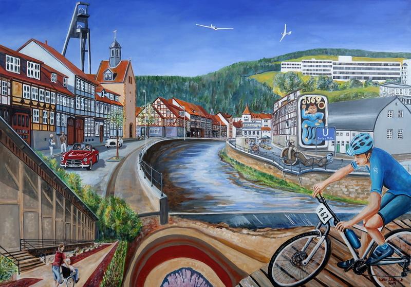 Collage des heutigen Bad Salzdetfurth
