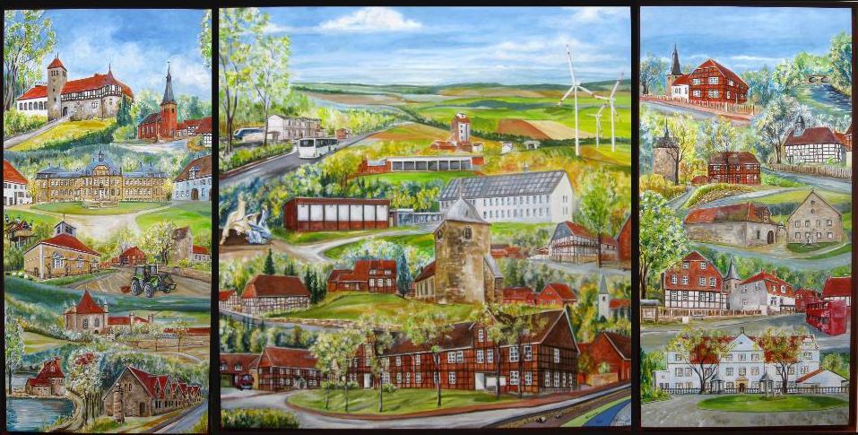Gemeinde Holle und zugehörige Ortschaften